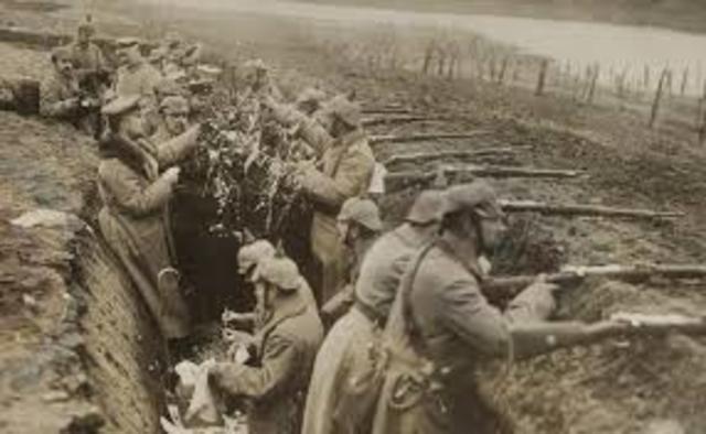 La gran ofensiva Alemana