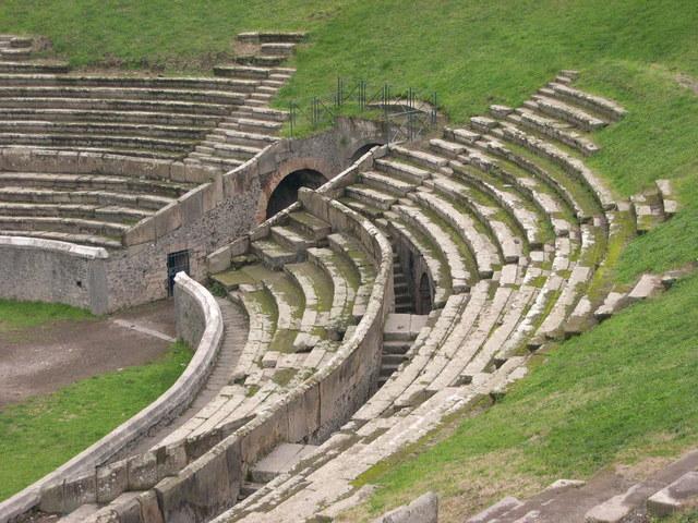 The Ampitheatre of Pompeii