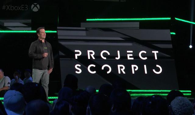 Project Scorpio(O Xbox one one)