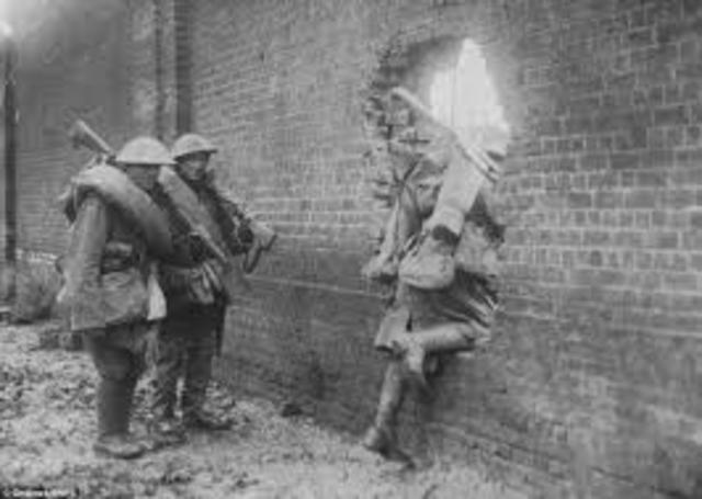 Contraofensiva victoriosa de los Aliados en Villers-Cotterets