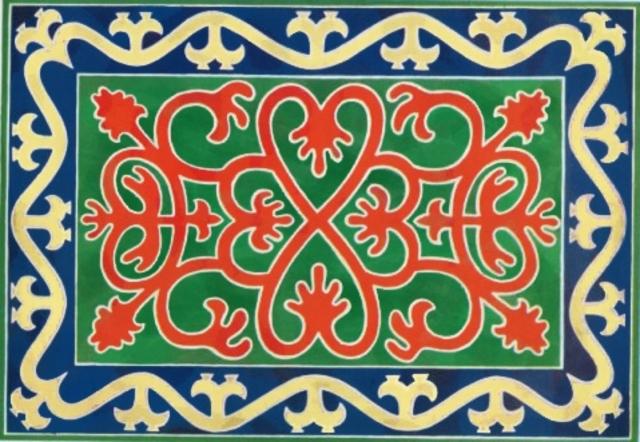 Chechen rugs