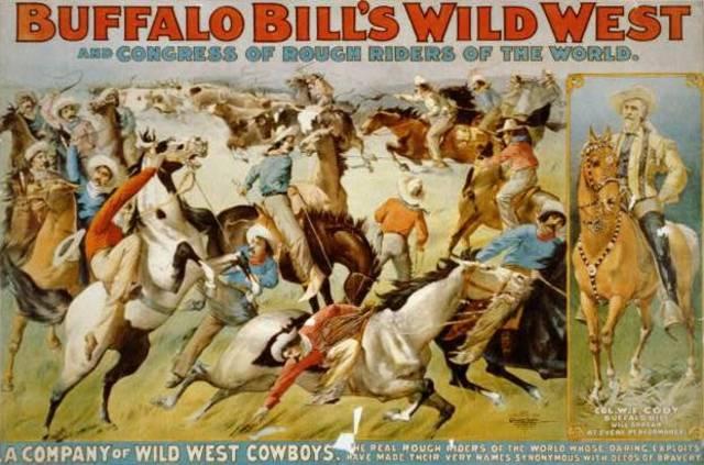 Buffalo Bill's Wild West Show Debuts
