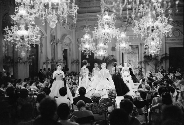 First Fashion Show in Italy