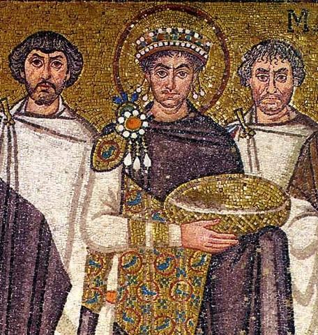 justiniano es emperador de bizancio