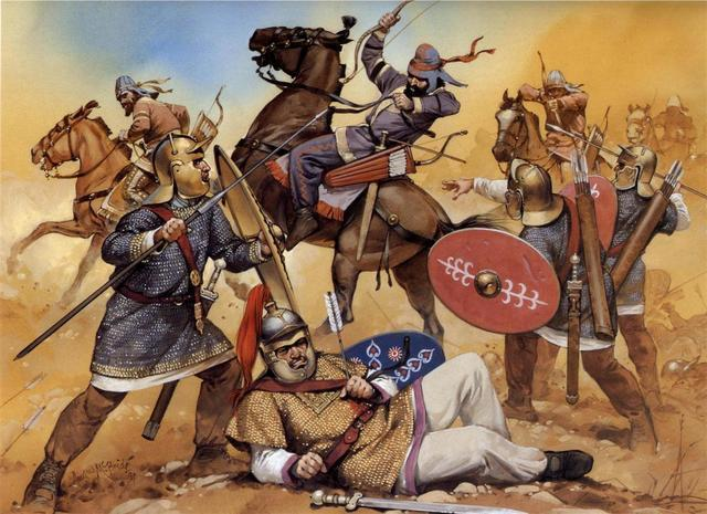 derrota de los islames en poitiers