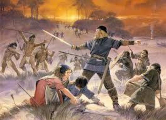 los vikingos crean colonias en américa del norte