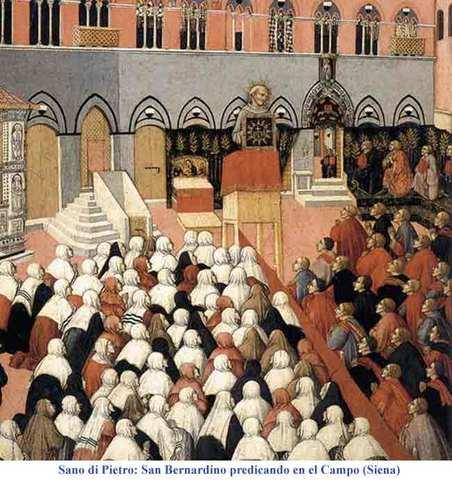 se crea la orden franciscana