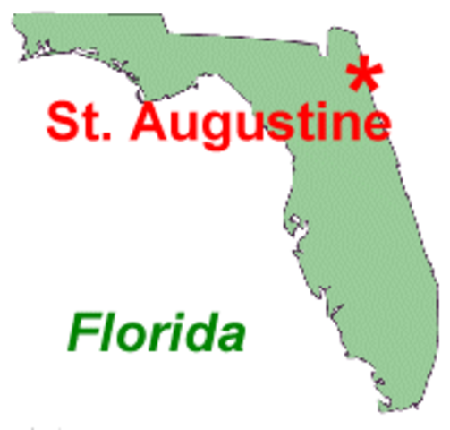 St. Augustine was founded