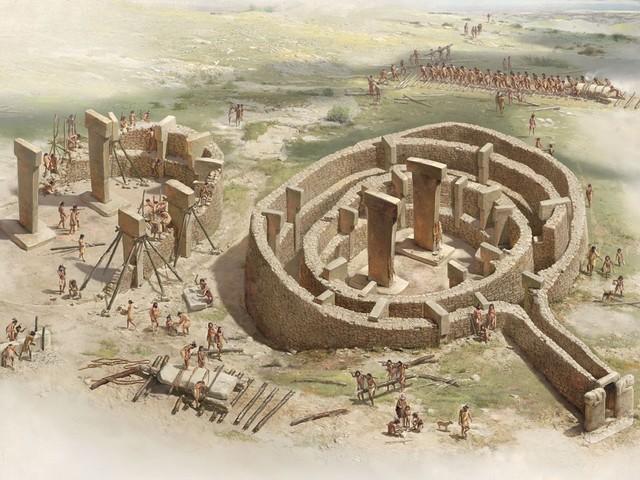 PREHISTORIA: Construcciones Megaliticas (GöBLEKI TEPE
