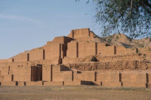 ANTIGÜEDAD: Mesopotamia (ZIGURAT DE CHOGAZANBIL)