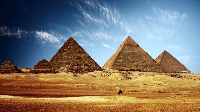 ANTIGÜEDAD: Egipto (PIRAMIDES DE GUIZA