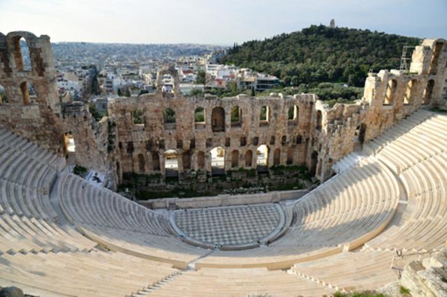 ANTIGÜEDAD CLÁSICA: Grecia (TEATRO DE HERODES)
