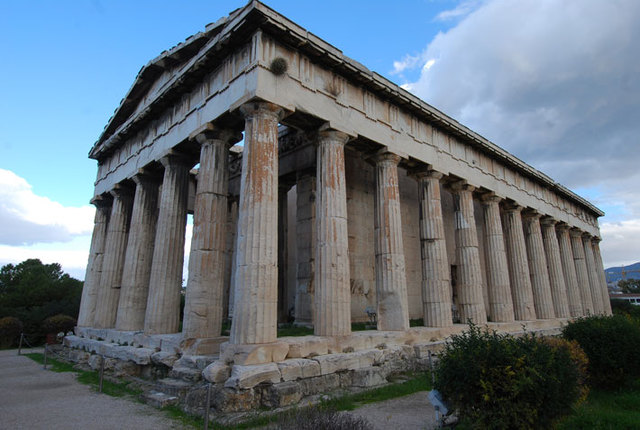 ANTIGÜEDAD CLASICA: Grecia (TEMPLO DE HEFESTO)