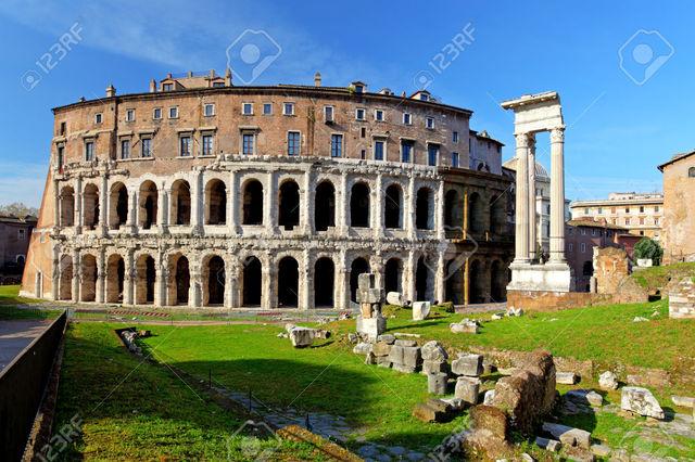 ANTIGÜEDAD CLÁSICA: Roma (TEATRO DE MARCELO)