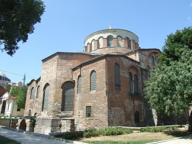 EDAD MEDIA: Bizantina (IGLESIA DE SANTA IRENE)