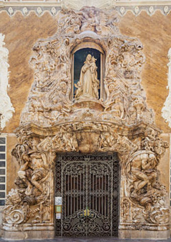 EDAD MODERNA: Rococó (PALACIO DEL MARQUEZ DE DOS AGUAS)