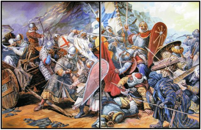 Batalla de Sagrajas: Victoria de los almorávides sobre los Castellano-Leoneses