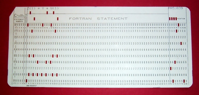 Punch cards