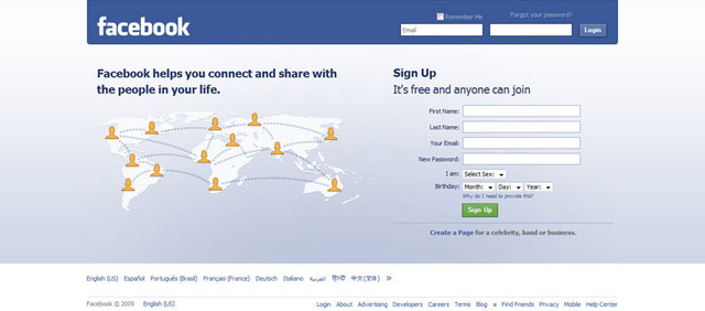 The Facebook is launched