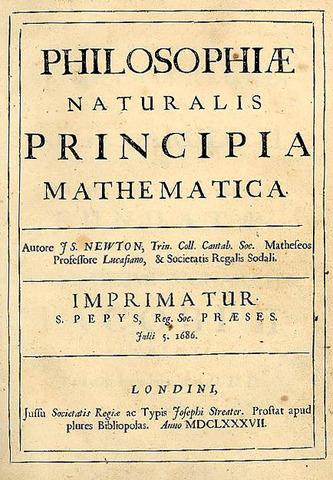 He published Principia