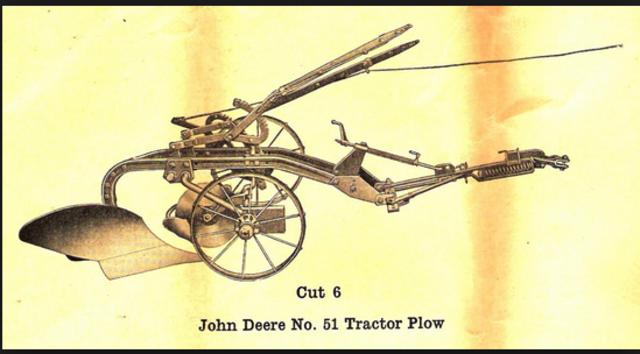 John Deere Plow