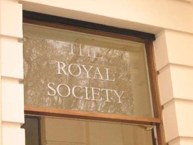 Newton was named president of the Royal Society