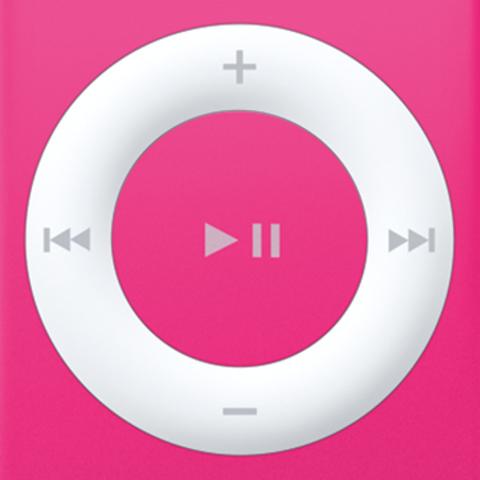 La rueda de clic del iPod