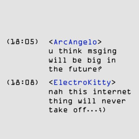 Relé de conversación por Internet (IRC)
