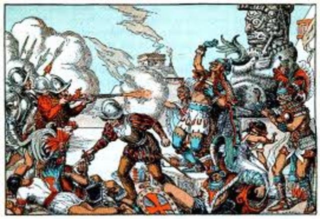 XIII Invasión Tropas Españolas / La Conquista