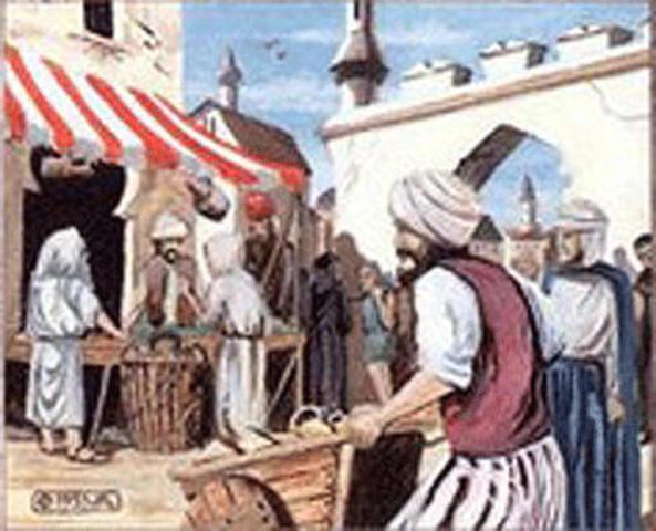 X Grupos de Mercaderes y Pago del Diezmo