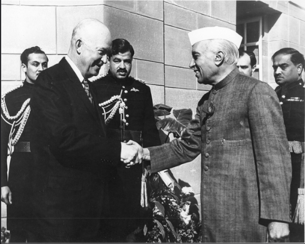 A US President visits India for the first time