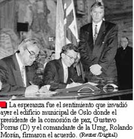 XXXII Primeros Acuerdos de Paz