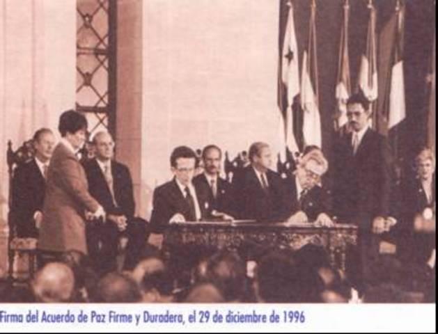 XXXIV Últimos Acuerdos y Firma de la Paz