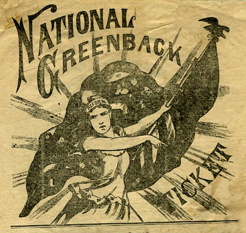 Creation of Greenback Labor Party
