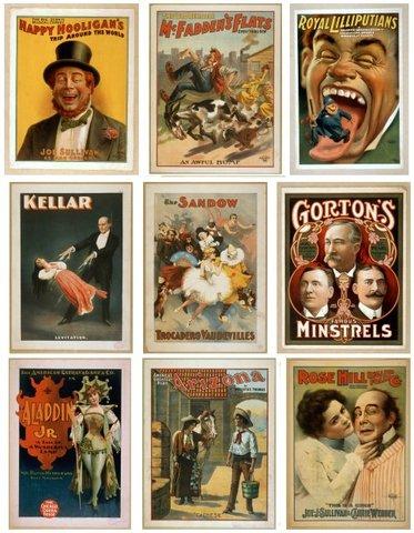 Vaudeville Shows become popular