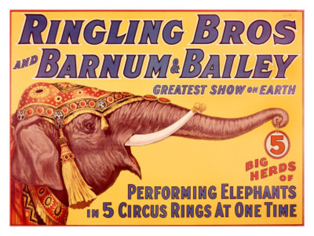 Ringling Brother's Circus founded