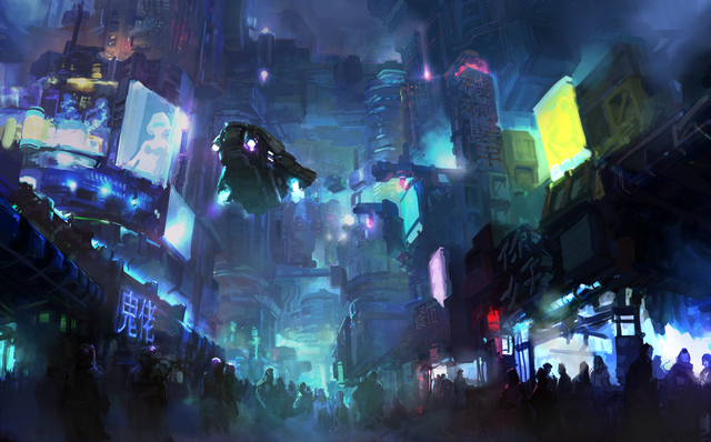 Birth of the cyberpunk name