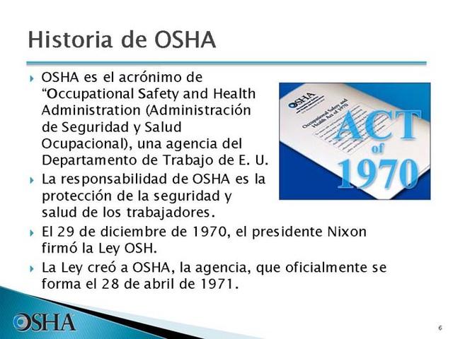 inica en Colombia  las OHSAS