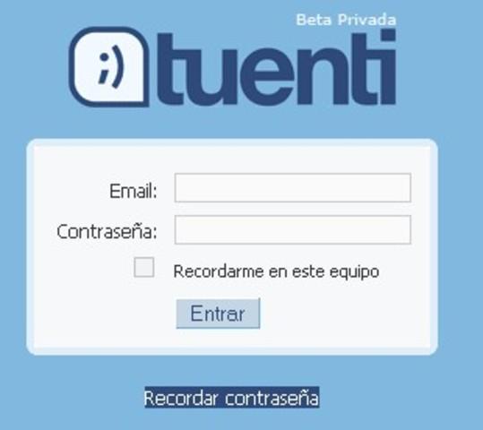 Red Social: Tuenti