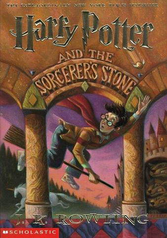 I read my first Harry Potter book