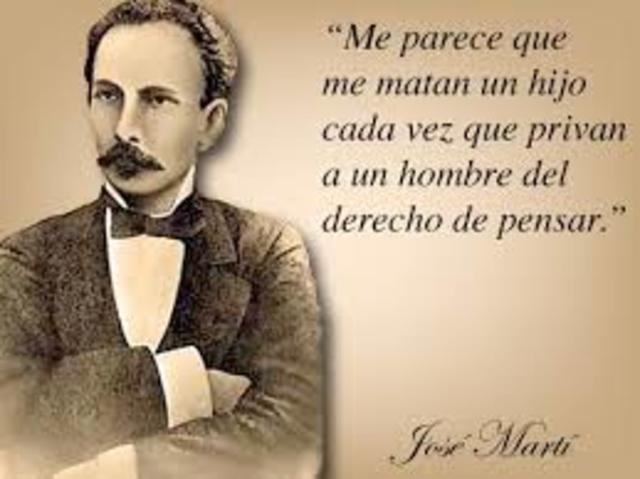 José Martí. Procesamiento de la Información