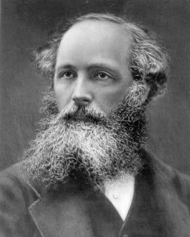 1864, James Clerk Maxwell