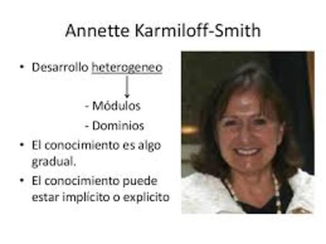 Karmiloff-smith. Innatismo constructivista
