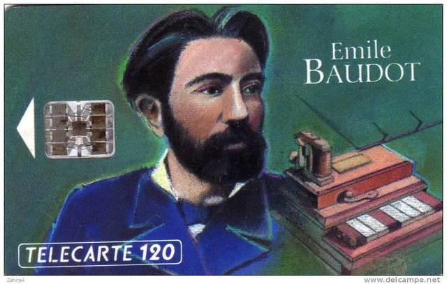 1874, Emile Baudot
