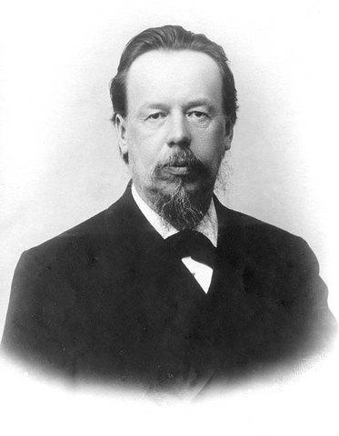1895, Alexander Popoff