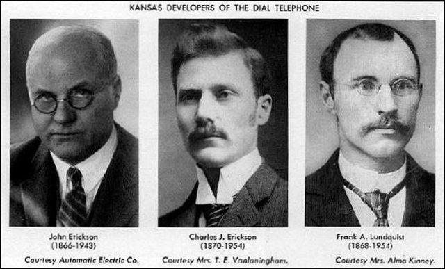 1896, Telefono de Disco