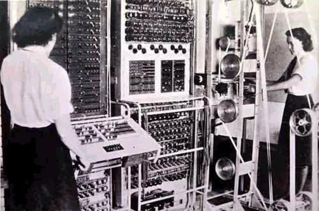 """1943, Primera Máquina """"Colossus"""""""
