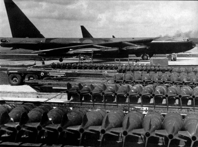 Bombing of Communist bases in Cambodia