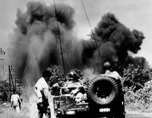 Continued Bombing of Communist bases in Cambodia