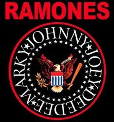 The Ramones release first album